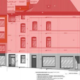 Maison de rapport à vendre à Ixelles