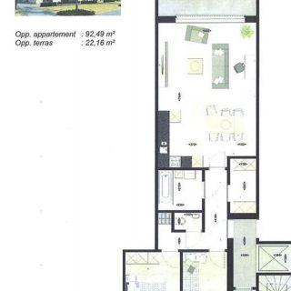 Appartement te huur tot Maaseik