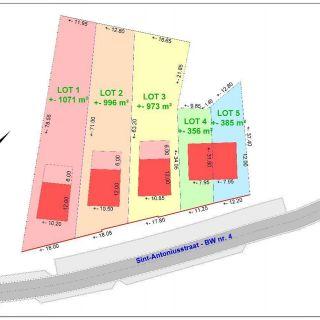 Terrain à bâtir à vendre à Sint-Lievens-Houtem