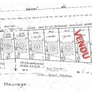 Terrain à bâtir à vendre à Strépy-Bracquegnies