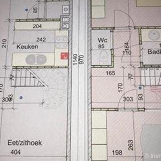 Duplex à vendre à Baasrode