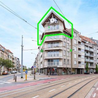 Duplex à louer à Blankenberge