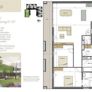 Appartement te koop tot Geraardsbergen