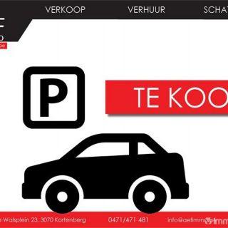 Parking à vendre à Woluwe-saint-Etienne