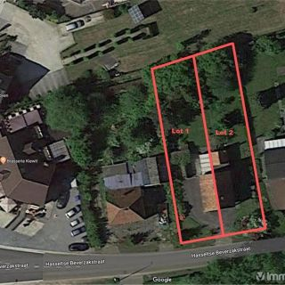 Terrain à bâtir à vendre à Zonhoven