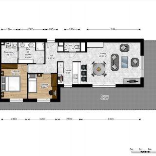 Penthouse à vendre à Thuin