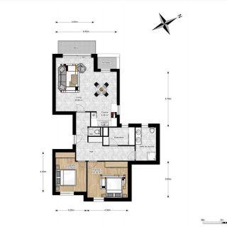 Appartement te koop tot Havré