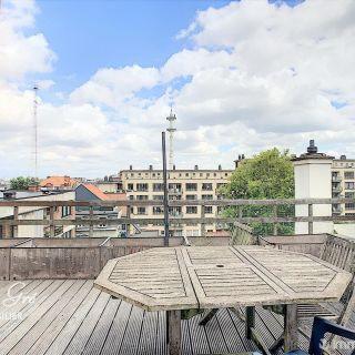 Penthouse à louer à Ixelles
