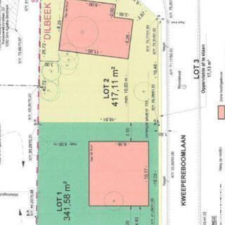 Terrain à bâtir en vente publique à Dilbeek