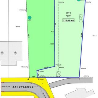 Terrain à bâtir à vendre à Kalken