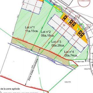 Terrain à bâtir à vendre à Bertogne