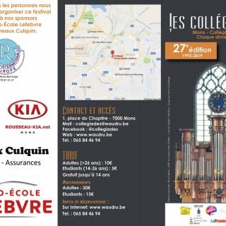 27e festival de musique de de la collégiale
