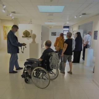 Exposition d'ensemble au Centre culturel avec 41 exposants