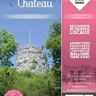 Les Apér'au Château sont de retour jusqu'au 25 août