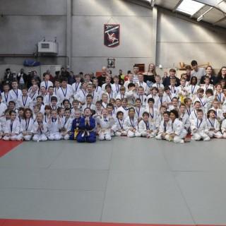 Le Judo club Saint-Denis à la fêtepour son cinquantième anniversaire