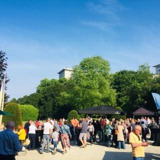 Dernière Garden Party dans les jardin du château De Rivieren