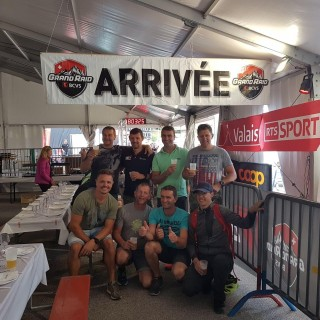 Ils sont devenus finishers du Grand Raid BCVS!