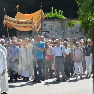 750 pèlerins à la procession du 22 août