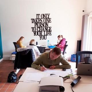 Un espace de travail partagé à Jemeppe-sur-Sambre