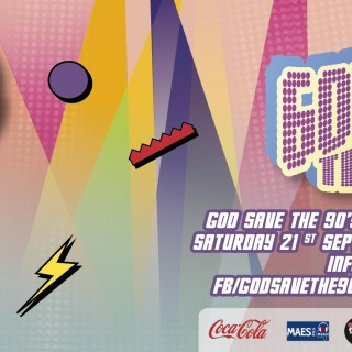 God Save The 90's: Charleroi Club Edition #1
