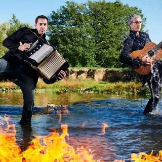 Quentin Dujardin et Didier Laloy en concert