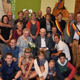 Jean et Léonie Michel ont célébré 70 années d'amour !