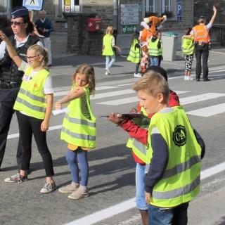 Sécurité routière: les enfants participent en direct