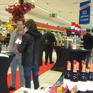 Remarquable sélection de vins chez Carrefour