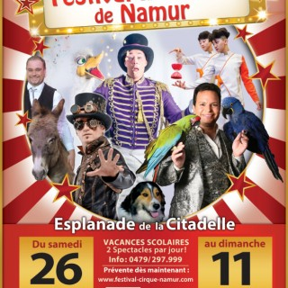 Festival du Cirque de Namur 2019