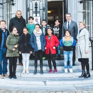 30 portraits d'enfants pour rappeler le programme Schola ULB