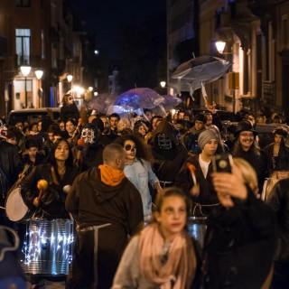 Zombies, train fantôme et feu d'artifice géant pour Halloween