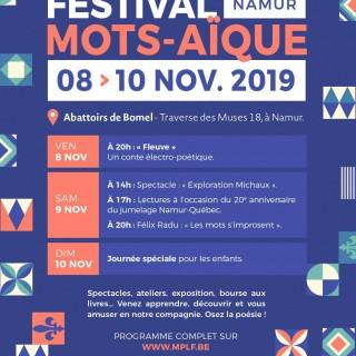 Mots-Aïque, le festival de poésie et de langue française