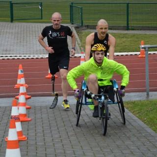 Un premier triathlon inclusifcouronné d'un succès inespéré!