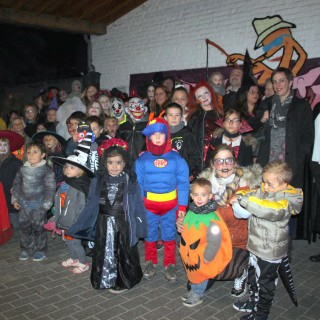 Grand jeu familial d'Halloween