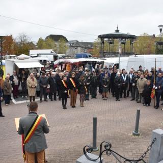 Un 11 novembre perturbé par le marché de la place Monseu
