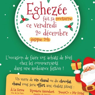 Éghezée fait sa nocturne de Noël ce 20 décembre