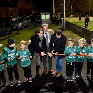 Inauguration de l'éclairage LED du Condruzien, une première dans la Province