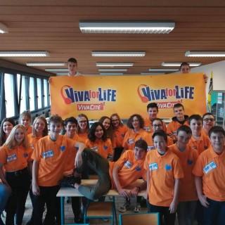 1er défi remporté pour les élèves du 3e de l'ARVM pour «Viva For Live»