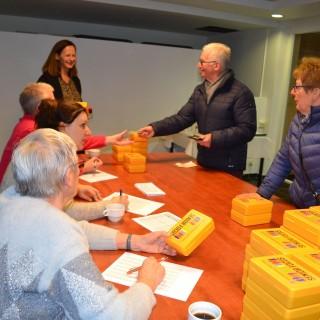 2.500 boites jaunes distribuées sur Frasnes-lez-Anvaing!