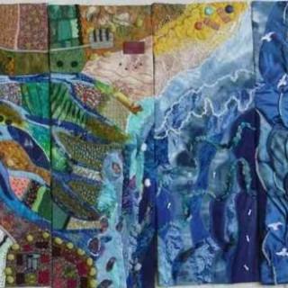 Le Fleuve, une œuvre colorée qui donne envie de préserver l'eau