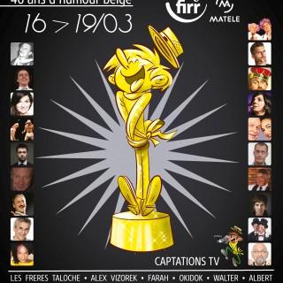 Grandes soirées de Gala du FIRR: 40 ans d'humour belge à Rochefort!