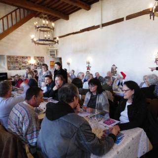 150 personnes au Noël solidaire du 19 décembre !