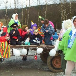 Préparatifs du carnaval de la Ferme des Castors