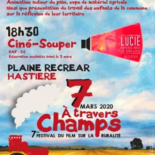 «Marché des Saveurs» et «Festival A Travers Champs»