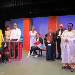 Le théâtre à Sibret, c'est le paradis…
