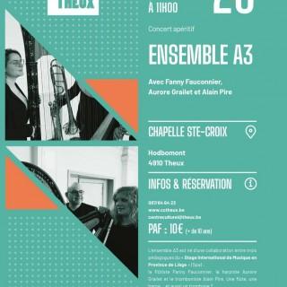 Concert apéritif au Centre culturel de Theux