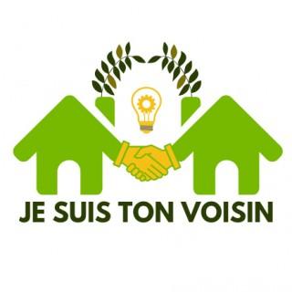 Un logo « Je suis ton voisin » pour apporter et demander de l'aide à son voisinage