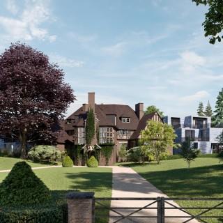 30 logements de luxe en bordure des étangs Mellaerts
