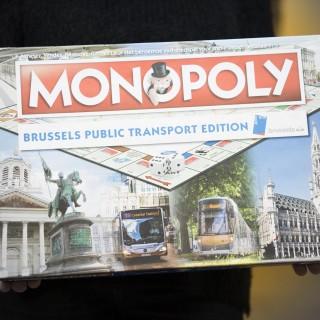 Devenez le gestionnaire du réseaude la Stib avec le Monopoly