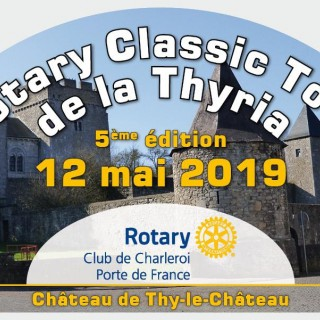 5e édition du Rotary Classic Tour de la Thyria